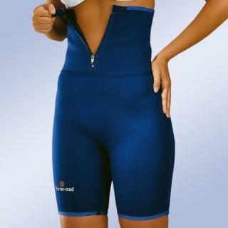 Wysokie spodnie neoprenowe 4701