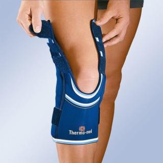 Opaska stawu kolanowego stabilizacja rzepki