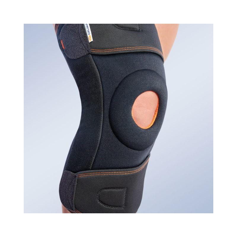 Stabilizator kolana z szynami