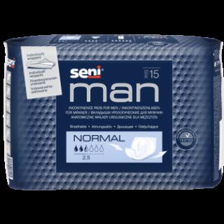 Wkładki urologiczne męskie Seni Man Normal 15 sztuk