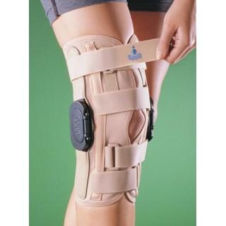 Orteza aparat  na kolano z podwójnym zegarem
