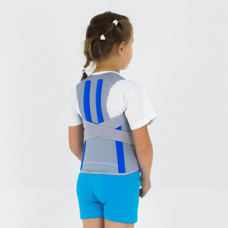 Dziecięca orteza kręgosłupa z podpaszkami