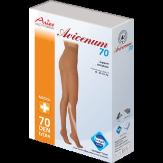 Avicenum 70AT Rajstopy przeciwżylakowe profilaktyczne