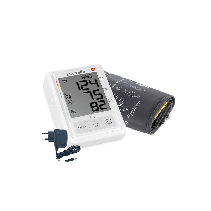 Ciśnieniomierz automatyczny z zasilaczem