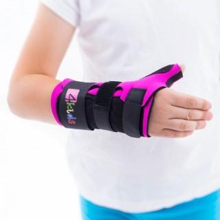 Orteza nadgarstka i kciuka termoplastyczna dziecięca FIX-KG-06