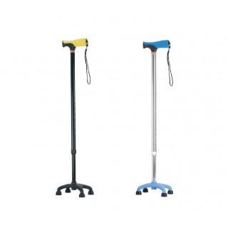 Laska inwalidzka aluminiowa – czwórnóg  AR-017