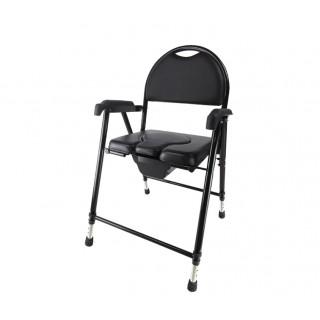 Krzesło toaletowe tapicerowane – składane AR-102