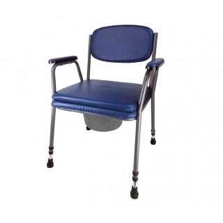 Krzesło toaletowe tapicerowane AR-103