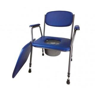 Krzesło tapicerowane zamykane bez kółek