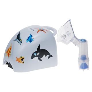 Inhalator tłokowy do zwalczania przeziębień kataru kaszlu alergii zapalenia oskrzeli oskrzelików  zapalenia płuc astmy