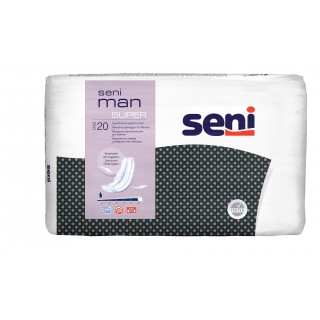 Wkładki urologiczne męskie Seni Man Super 20 sztuk