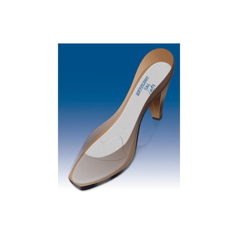 Wkładki do butów silikonowe ekstracienkie