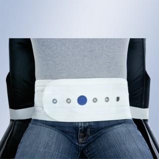 Brzuszny pas magnetyczny do krzesła lub fotela