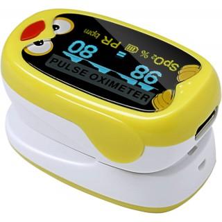 Pulsoksymetr na palec dla dzieci