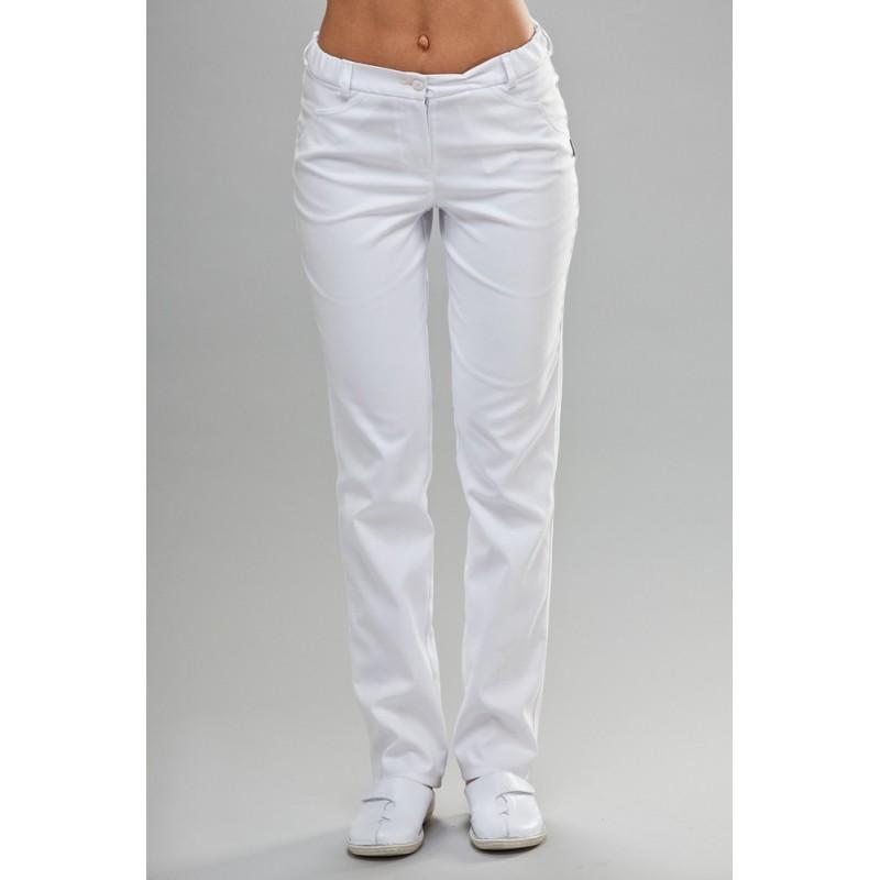 Spodnie medyczne damskie rurki