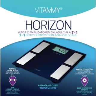 Waga z analizatorem składu ciała VITAMMY Horizon 7 w 1