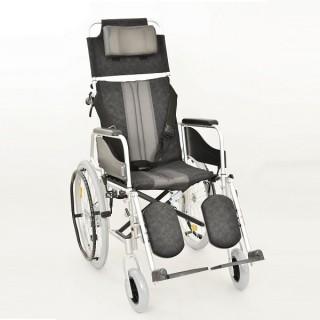 Wózek inwalidzki aluminiowy stabilizujący plecy i głowę ALH 008