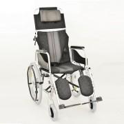 Wózek inwalidzki aluminiowy stabilizujący plecy i głowę