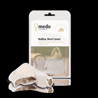 Hallux Med Cover Ochronna opaska z wstawką żelową i separatorem