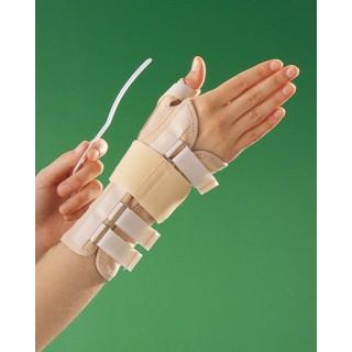 Stabilizacja nadwyrężonego nadgarstka  skręcenia po operacji po zdjęciu gipsu